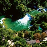 0002 sibenik region national park krka waterfalls